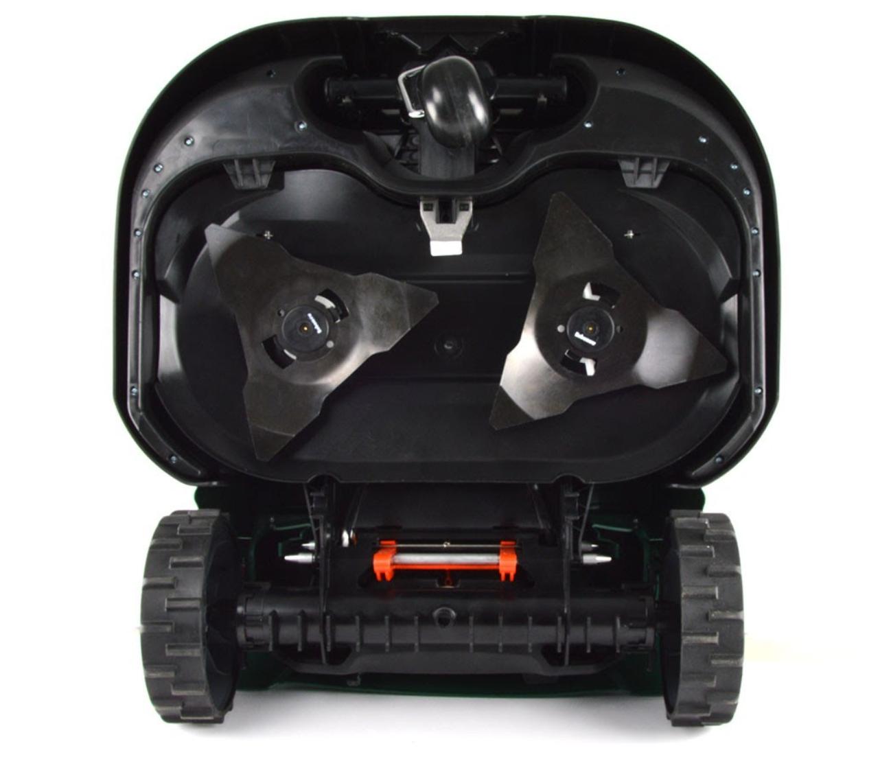 underside of Robomow RS630